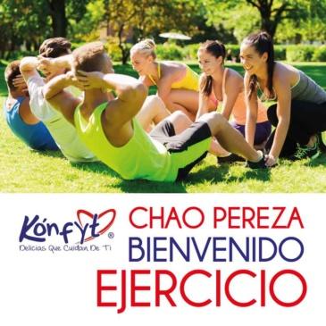 Chao pereza, bienvenido ejercicio